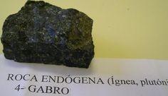 Gabro- Roca ígnea plutónica o endógena