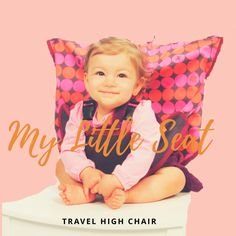 My Little Seat is perfect for any and all kinds of adventure! Never have to worry about available high chairs ever again! Machine washable and able to fold inside a diaper bag, these seat covers turn any adult chair into a high chair. It's convenient, portable, and fun! Get yours today!