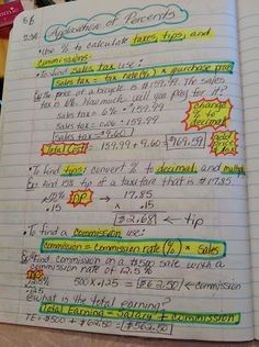 7th Grade Math Interactive Notebook - Maria Gonzalez - Picasa Web Albums