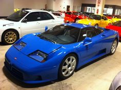 1994 EB110 GT For Sale Front Three Quarter View