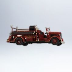 1936 Ford Fire Engine Fire Brigade #10 2012 Hallmark Ornament: This one of the great hallmark ornaments from this year.