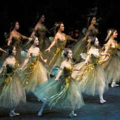 Love the costumes! Artists of The Australian Ballet in Ashton's The Dream, 1969.