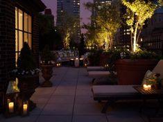 glass candle lamp romantic sense terrace decor