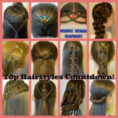 Top 13 hairstyles compilation.