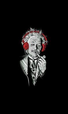 #alberteinstein #artwork #headphones #einstein #funny #m=mc2