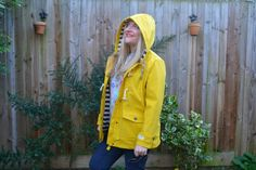 Not Another Mummy Blogger - Yellow Joules jacket