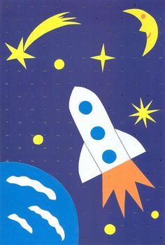 день космонавтики поделки - Поиск в Google Art Activities For Toddlers, Preschool Activities, Crafts For Kids, Space Classroom, Classroom Themes, Moon Crafts, School Decorations, Art Plastique, Pre School
