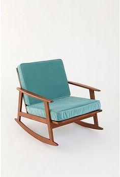Mid Century Rocker Chair.