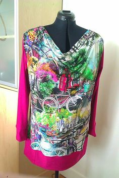 Tunika sydd i stoff fra Hilcodesign :)