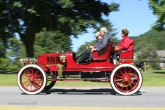 A Very Early Automobile