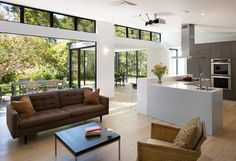 The Teare Family Residence - La Calle - contemporary - Living Room - San Francisco - Art of Construction Inc