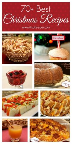 70+ Best Christmas Recipes from It's a Keeper