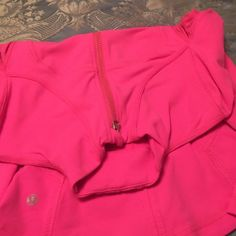 Lululemon pink sweat shirt size 4 Only wear a couple of time but it's in a very good condition, no stains nor tears, please see all the pictures before buying and serious buyers only, thanks lululemon athletica Tops Sweatshirts & Hoodies