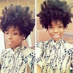 Love her hair and the natural looking makeup Tapered Natural Hair, Natural Hair Tips, Natural Hair Inspiration, Natural Hair Journey, Natural Hair Styles, Au Natural, Natural Beauty, Love Hair, Big Hair