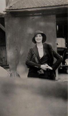 Jacques-Henri Lartigue.Renée Perle, Renée Perle, 1931