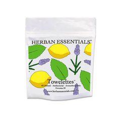 Mixed Bag Essential Oil Towelettes - Lavender, Peppermint & Lemon