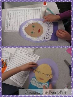When I Am 100 Years Old~Writing ideas for the 100th day plus a FREE Things We've Been Told 100 Times class book printable from Around the Kampfire blog