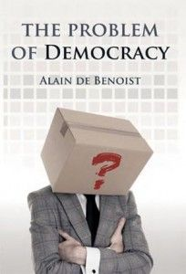The Problem of Democracy is the first of Alain de Benoist's book-length political works to appear in English.