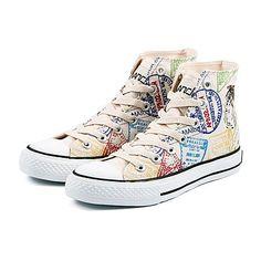 1 pair of sneakers