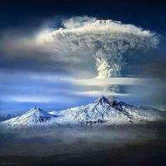 Mount Ararat eruption, Armenia