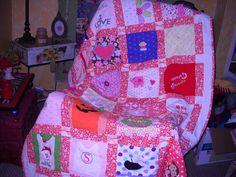 Custom Order Baby Birthday  Quilt        50 00 by fabricartist21, $50.00