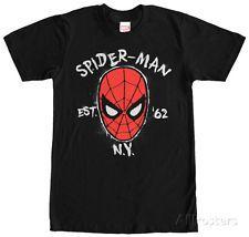 Spiderman- Hero Since '62 Apparel T-Shirt - Black