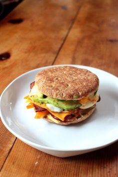Food Nasty: Low Calorie Breakfast Sandwich