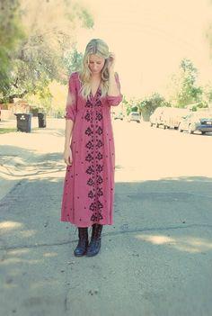 Boho Dress   Bohemian Fashion Inspiration