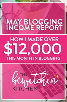 May Blogging Income