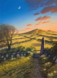 Sarah Vivian - Earth Magic, Primroses and Celandines, West Penwith.