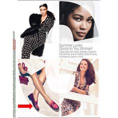 Belle Weejuns in Glamour's July issue!