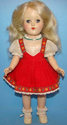 Toni doll - came with a Toni home permanent!  I loved my Toni doll so much...