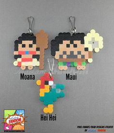 12 pcs Moana Party Favors Zipper Pulls I Maui Party Favors I