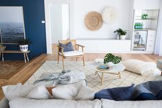 From Worn Out 1980's House to Modern Australian Coastal Boho Beach Home — Minted Interiors