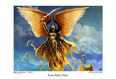 Flying Angel Token by Cyril Van Der Haegen