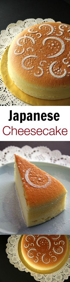 Japanese cheesecake – cotton soft, light, pillowy, the BEST cheesecake recipe EVER. Tried and tested, a MUST-BAKE for cheesecake lover!!   rasamalaysia.com