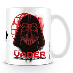 Star Wars, Rogue One bögre I Ajándék most webáruház Star Wars Mugs, One Logo, For Stars, Rogues, Dark Side, Print Design, Darth Vader, Kitchen Cupboards, Empire