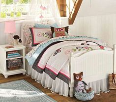 Cute girls bedding & room....Pottery Barn
