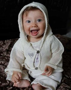 Baby Knitted Linen Hoodie