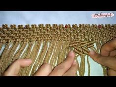 TUTORIAL TAS TALI KUR MOTIF ZIGZAG - YouTube Macrame Bag, Macrame Knots, Motif Zigzag, Free Macrame Patterns, Bracelet Crafts, Macrame Projects, Baby Knitting, Purses And Bags, Diy And Crafts