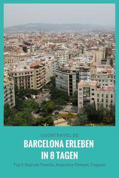 """Barcelona erleben in 8 Tagen – Tag 3: Sagrada Familia, Augustus-Tempel,  Caganer ( """"Kleiner Scheißer"""")  #Barcelona #BarcelonaTipps #SagradaFamilia #Spanien"""
