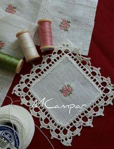 Crochet Neckwarmer Learn How Crochet Boarders, Crochet Edging Patterns, Crochet Lace Edging, Crochet Squares, Crochet Doilies, Crochet Flowers, Crochet Edgings, Diy Crafts Crochet, Crochet Home