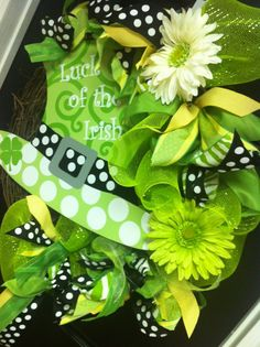 Saint Patrick Day Whimsical Wreath St. Patrick's Day #irish, #holidays, #pinsland, https://apps.facebook.com/yangutu