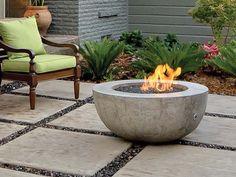 Fire Pit Bowls - Ernsdorf Design   Concrete Fire Pit Bowls, Furniture and Art