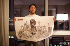 David Choe for Howard Stern