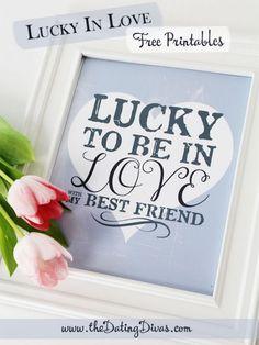 Lucky in Love Framed Art