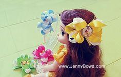 리본공예 www.JennyBows.com