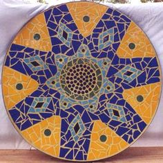 Image Detail for - Water 2 mosaic mural in ceramic tiles by Brett Campbell Mosaics