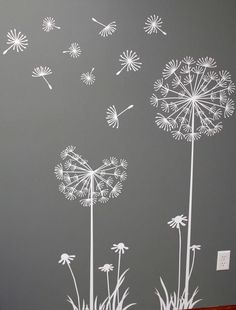 wall stencils - Google Search (paint canvas solid color and trace design with whiteout pen)