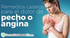 El dolor de pecho ocasionado por la minoración del flujo de sangre al corazón se conoce como angina de pecho, estos 10 remedios te ayudaran a sanar el...